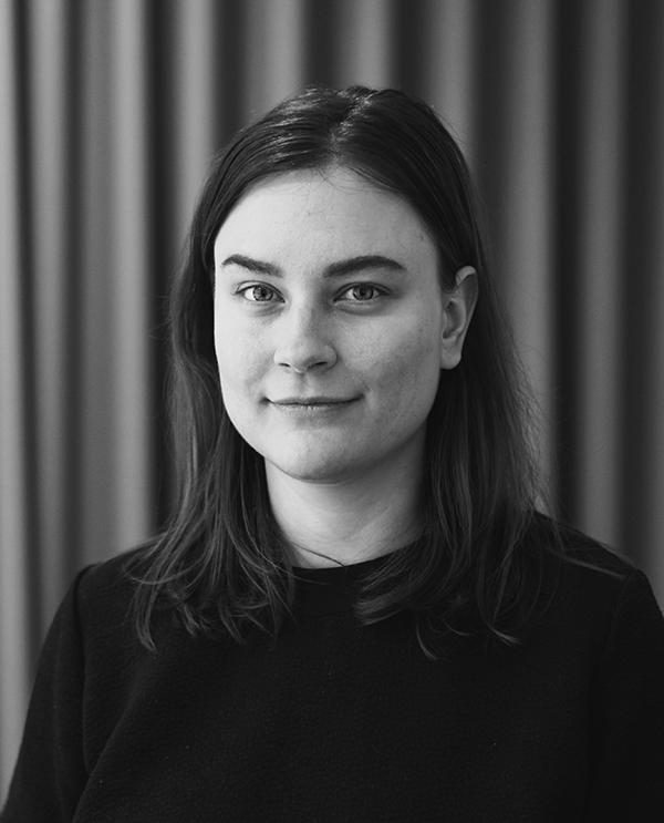 Porträtt av innehållsproducent Malin Åkerskog