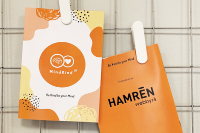 MindKind broschyrer finansierade av Hamrén Webbyrå