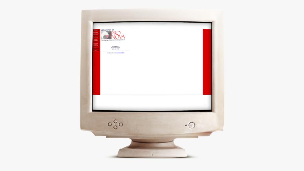 ProNova 1997, Placerad i en gammal dator.